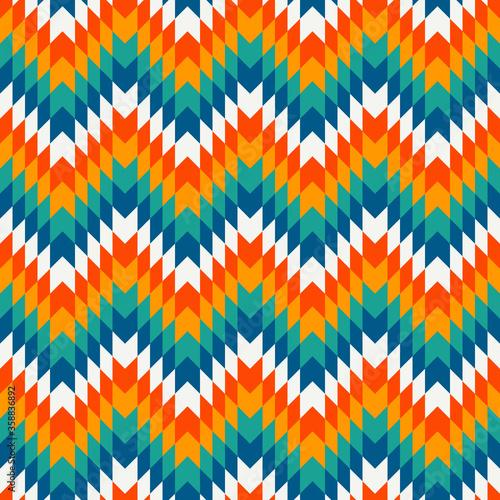Tapety Boho   styl-etniczny-wzor-z-liniami-chevron-rdzenni-amerykanie-ozdobne-tlo-motyw-plemienny-kolorowa-mozaika