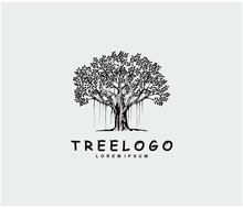 Tree Logo Design Template, Vec...
