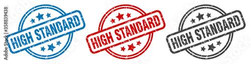 Carta da parati high standard stamp