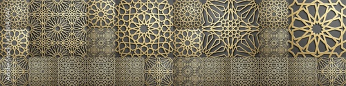 Islamic pattern Wallpaper Mural