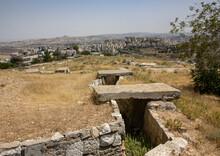 An Old Israeli Bunker In Jerus...