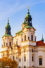 Saint Nicholas Church In Pragu...