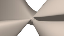 Chaotic 3D Abstract Background...