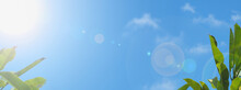 Web Size Banner Of A Blue Sky ...