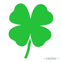 Green Shamrock Clover Vector I...