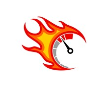Speedometer With Fast Fire
