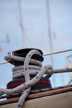 A Self-tailing Winch Of A Sail...