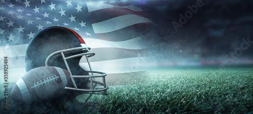 Fototapeta American Football