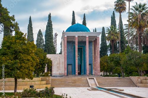 Fototapeta It's Saadi's mausoleum in Shiraz, Iran.
