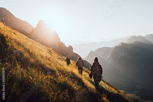 Fototapeta Randonnée en Haute-Savoie obraz