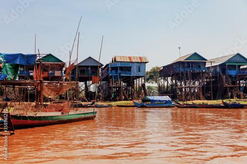 Fotografie, Obraz Tonle Sap lake