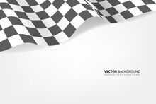 Checkered Flag Background. Rac...