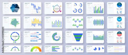 Fotografia, Obraz Modern multipurpose Infographics Templates