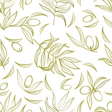 Seamless Pattern. Graphic Draw...