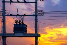 Electric Power Transformer On ...