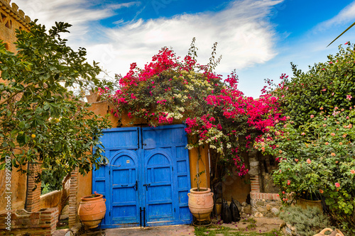 Fototapety, obrazy: It's Architecture of Chefchaouen, Morocco.