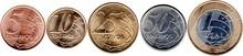 Brazil Real Coins 2018 - Backg...