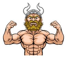 A Viking Warrior Or Barbarian ...