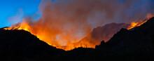 Bighorn Fire In Tucson Arizona