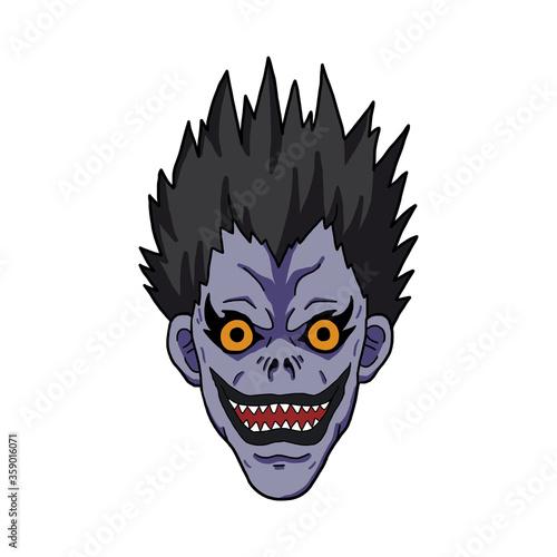 Платно Character Face Manga and Anime