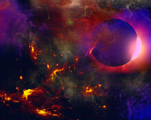 Abstract Space Background And ...