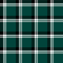Tartan Seamless Pattern. Green Check Plaid Background For Decorations And Fabrics.