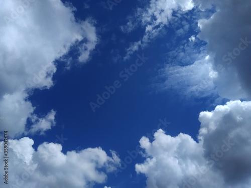 widok na niebo Canvas