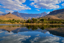 Drakensberg Reflection South A...