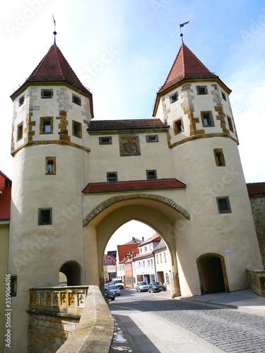 Nabburger Tor Amberg Bayern Stadtmauer Ringmauer Stadt historische Altstadt  Ob Wallpaper Mural