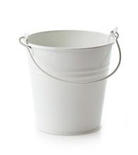 Empty White Bucket