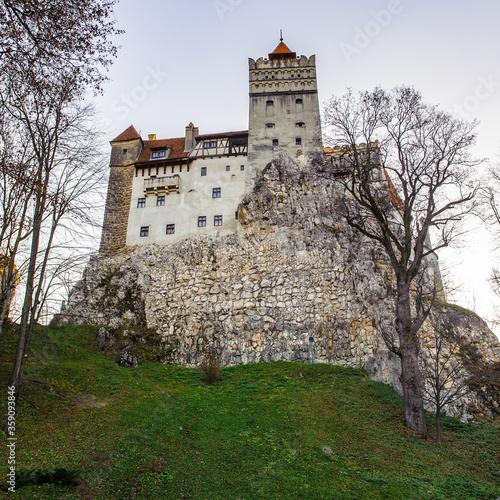 It's Dracula Castle in Bran, Romania Canvas Print