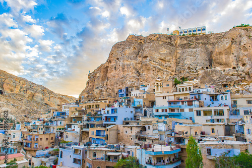 Fotomural It's Ma'loula or Maaloula, a small Christian village in the Rif