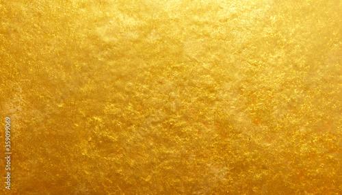 Fototapeta gold polished metal steel texture obraz