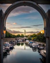 Paris, France Bastille Column ...