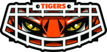 Tigers Football Mascot Face We...