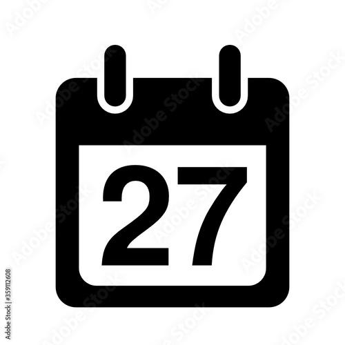 Fototapeta kalendarz ikona
