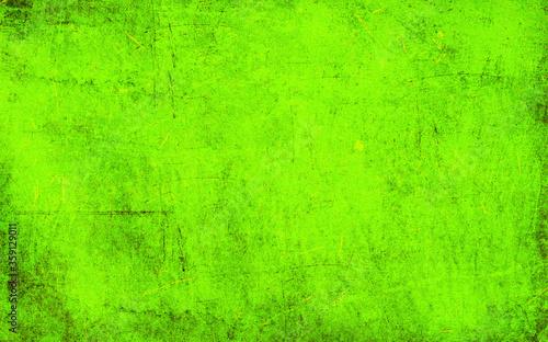 Photo Green scraped texture