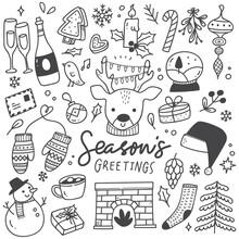 Set Of Christmas Design Elemen...