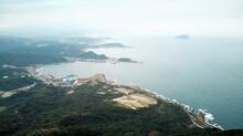 Aerial View Of Jilong Mountain...