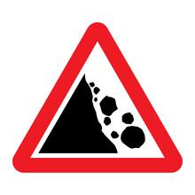 Falling Rocks Or Debris Warnin...