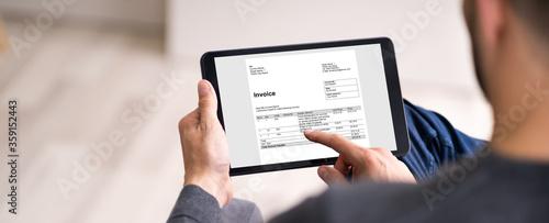 Valokuva Digital Invoice Accounting
