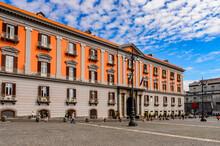 It's Palace Of Capodimonte, Naples, Italy.