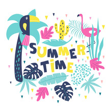 Summer Time Hand Drawn Inspira...