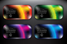 Abstract Vector Banners Set Of...