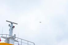 Cruise Ship Radar. Radar On Mi...