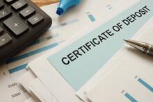 Certificate Of Deposit CD Is S...