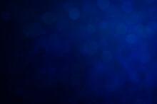 キラキラした青のボケ...