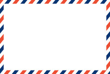Air Mail Letter Vector. Post S...