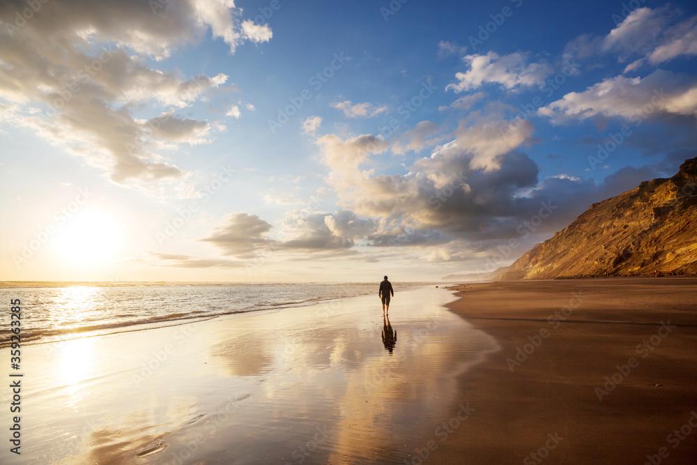 Fototapeta New Zealand coast