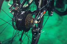 Electric Bicycle Motor Inside The Wheel